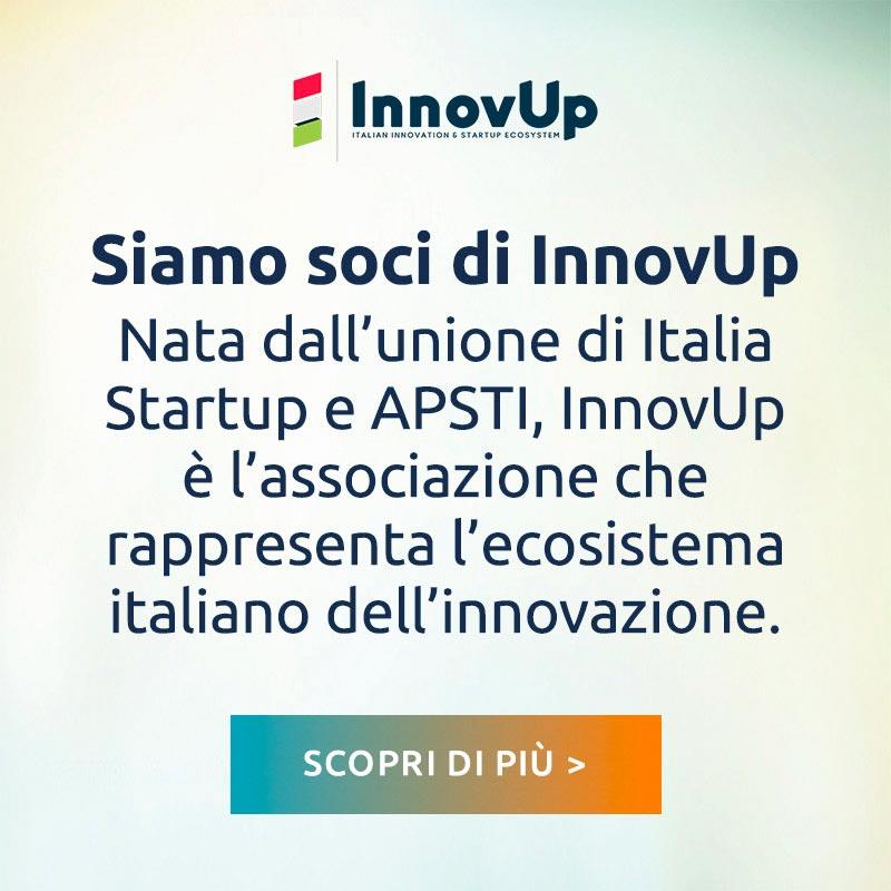 Siamo soci di InnovUp - Scopri di più