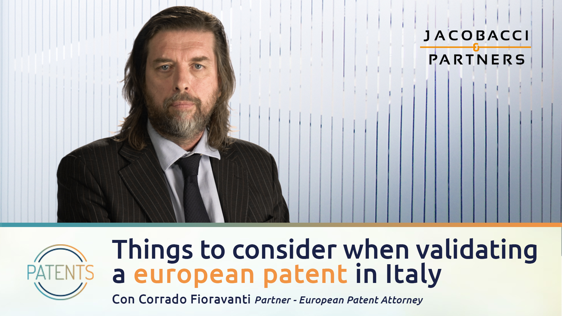 Things to consider when validating a european patent in Italy