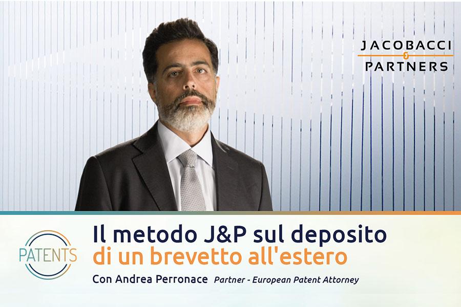 Il metodo Jacobacci sul deposito di un brevetto all'estero