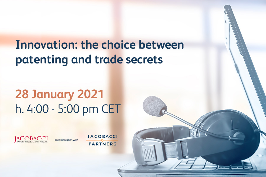 Innovation: the choice between patenting and trade secrets