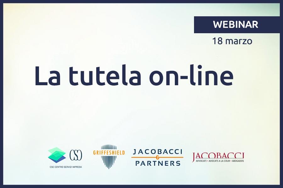 Webinar - La tutela on-line
