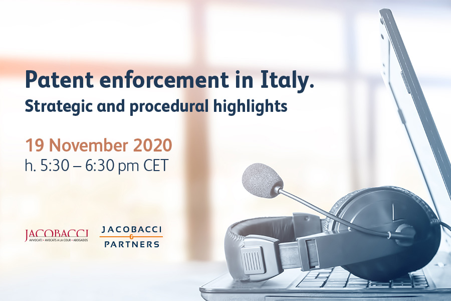 Patent enforcement in Italy. Strategic and procedural highlights